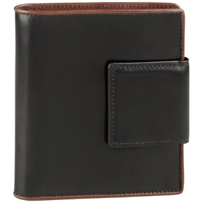 3-Part Show Card Wallet w/ Tab Closure