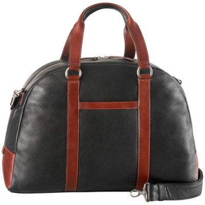 Full top zip carry on duffle bag