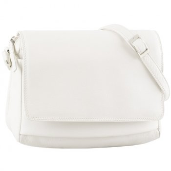 Classic Three-Quarter Flap Shoulder Bag