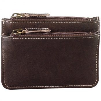 Two Zip Coin/Card Case