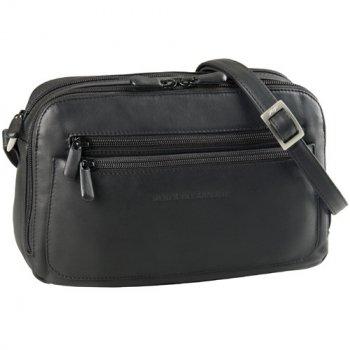 Double Zip Organizer Handbag