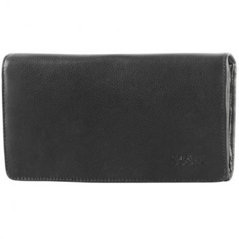 Large Multi-Compartment Clutch Wallet