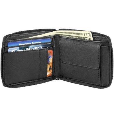 Full Zip Billfold w/ Change Pocket