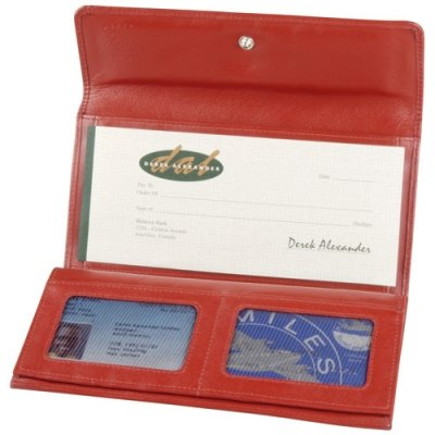 Ladies 3-Part Cheque Book