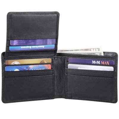 Credit Card Billfold w/ Wing