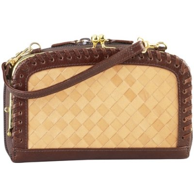 Basket Weave French Purse
