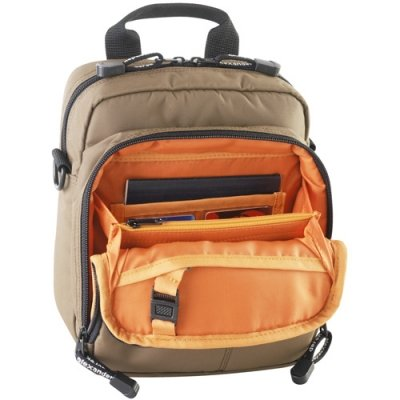 NS Two-Zip Shoulder Bag