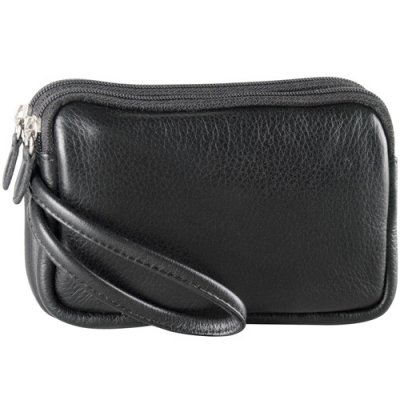 Two Zip Cellphone Pouch