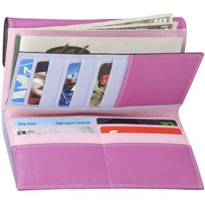 3-Part Cheque Book Clutch