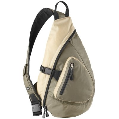 Front Zip Body Sling Bag