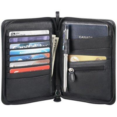 Full Zip Passport Wallet