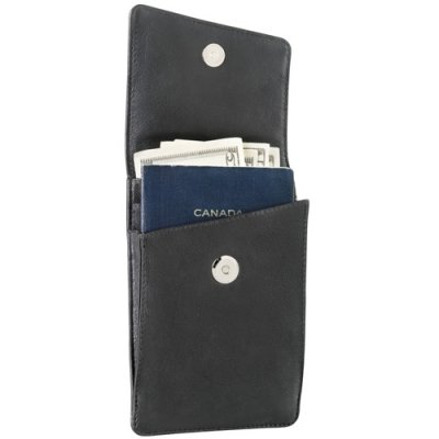 Passport Travel Case with Strap