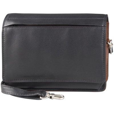 Double Front Flap Shoulder Bag