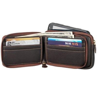 Two Zip Gadget/Iphone Wallet