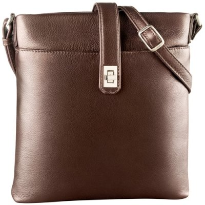 Small NS Top Zip Slim Shoulder Bag