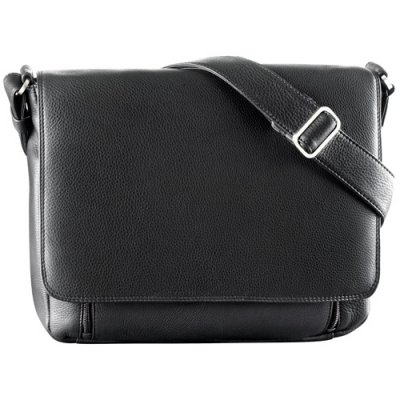 Multi Compartment with 3/4 Flap Shoulder Bag