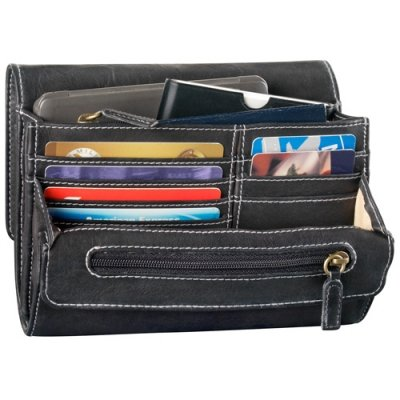 Small Convertible Multi Organizer Clutch/Bag
