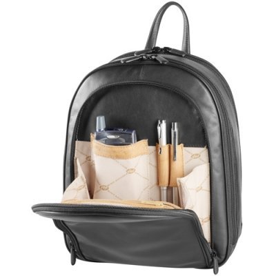 Three Zip Organizer Backpack