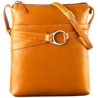 NS Slim Top Zip Shoulder Bag