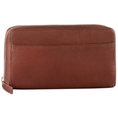 Large Full Zip Organizer Clutch Wallet