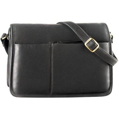 EW Full Flap Semi Structured Shoulder Bag
