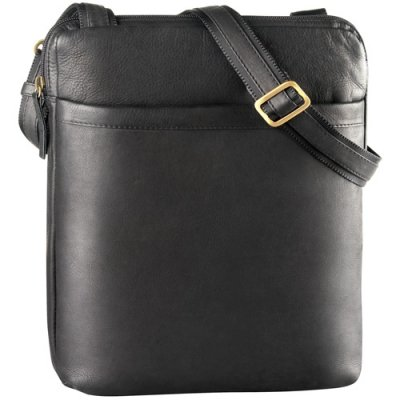 NS Top Zip unisex messenger bag