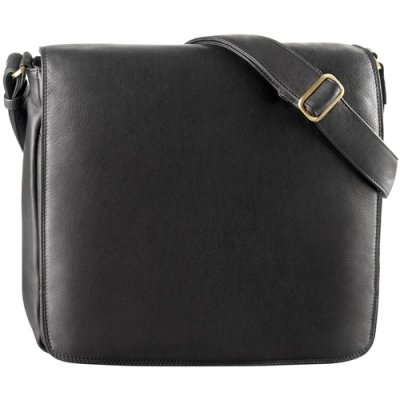 Large 3/4 Flap Unisex Messenger Bag