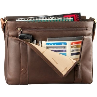 EW 3/4 Flap Unisex Messenger Bag