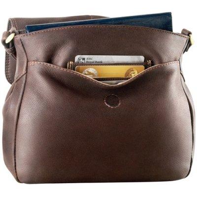 Small 1/4 Flap Shoulder Bag