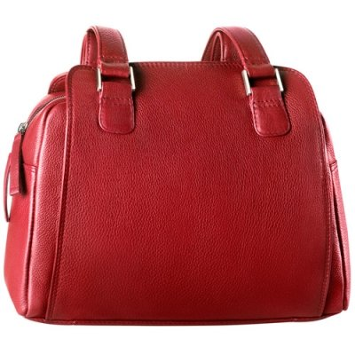 Top Zip Compartments w/ two drop pockets and twin handles