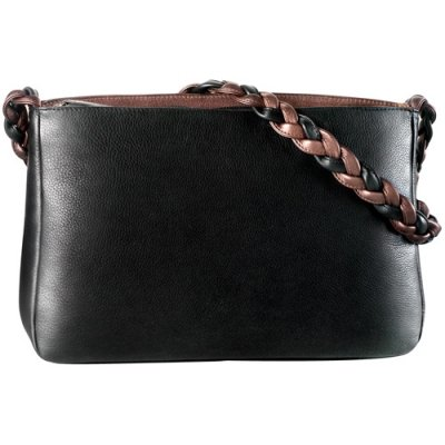 Classic EW inset top zip w/braided shoulder