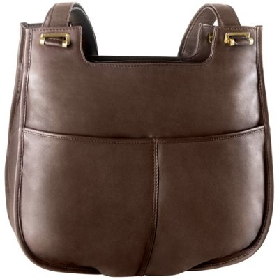Large two inset top zip w/ twin handle