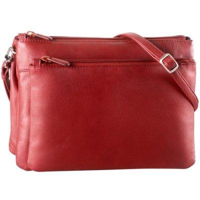 EW two top zip handbag