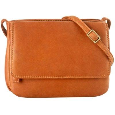 Small 3/4 flap shldr bag